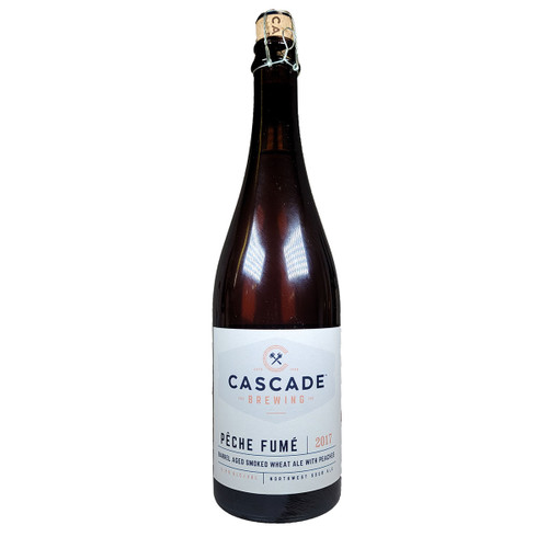 Cascade Peche Fume Barrel Aged Smoked Wheat Ale 2017