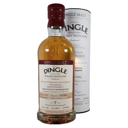 Dingle Batch 3 Single Malt Irish Whiskey
