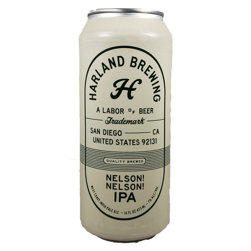 Harland Nelson! Nelson! IPA Can