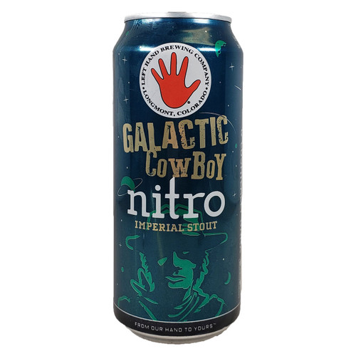 Left Hand Galactic Cowboy Nitro Imperial Stout Can