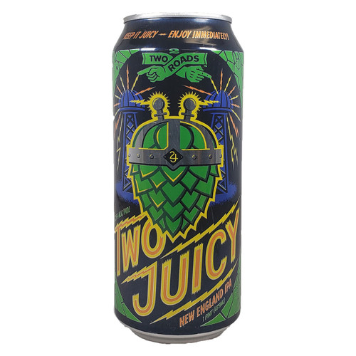 Two Roads Two Juicy New England Style Double IPA Can