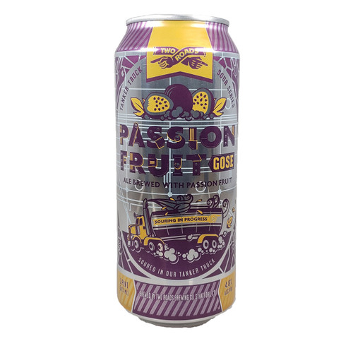Two Roads Passion Fruit Gose Can