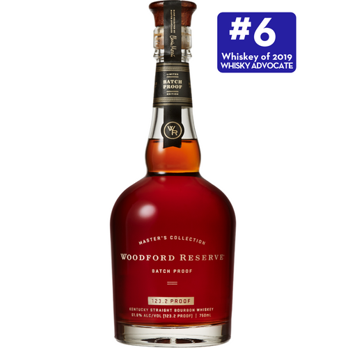 Woodford Reserve Master's Collection Batch Proof 2019 Kentucky Bourbon Whiskey