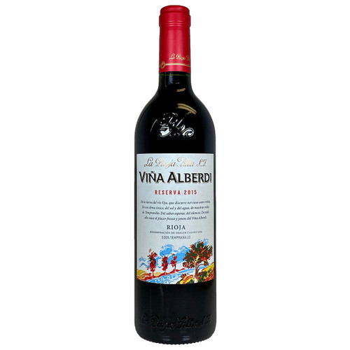 La Rioja Alta 2015 Vina Alberdi Rioja Reserva
