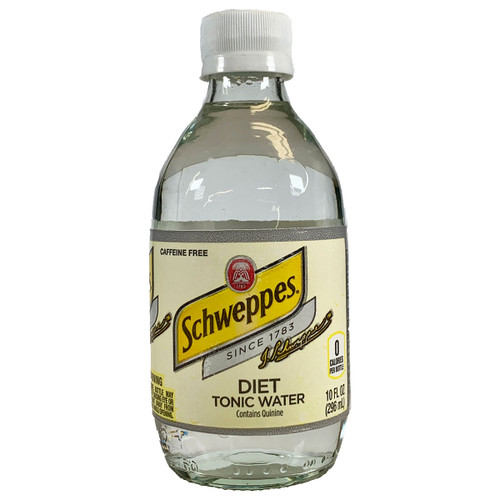 Schweppes Diet Tonic Water 10OZ 6-Pack