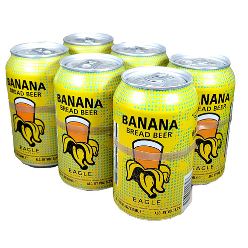 Eagle Banana Bread Beer 6-Pack Can