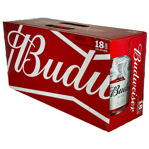 Budweiser 18-Pack Can