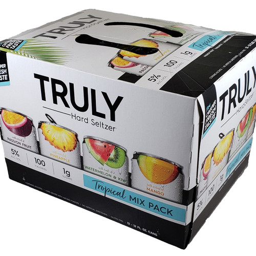 Truly Hard Seltzer Tropical Mix 12-Pack Can