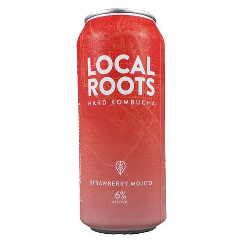 Local Roots Strawberry Mojito Hard Kombucha Can