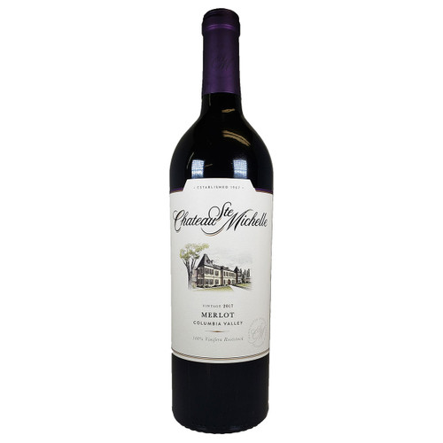 Chateau Ste. Michelle 2017 Columbia Valley Merlot