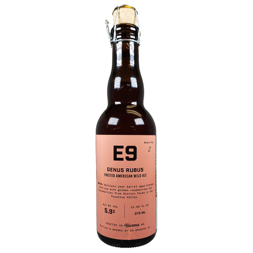 E9 Genus Rubus Fruited American Wild Ale