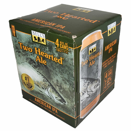 Bell's Two Hearted Ale American IPA 16OZ 4-Pack Can