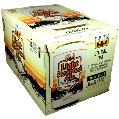 Bell's Light Hearted Ale Lo-Cal IPA 6-Pack Can