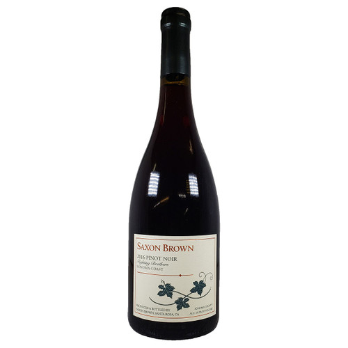 Saxon Brown 2016 Fighting Brothers Pinot Noir