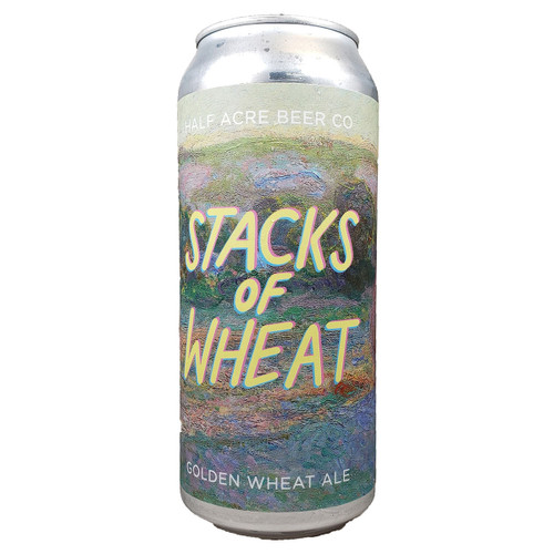 Half Acre Stacks Of Wheat Golden Wheat Ale Can