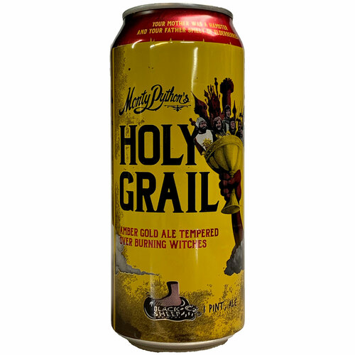 Black Sheep Monty Python's Holy Grail Ale Can