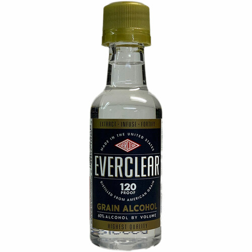 Everclear 120 Proof Grain Spirit 50ML