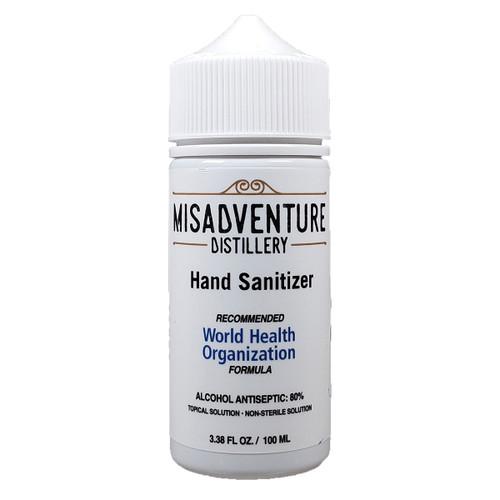 Misadventure Distillery Hand Sanitizer 3.38OZ