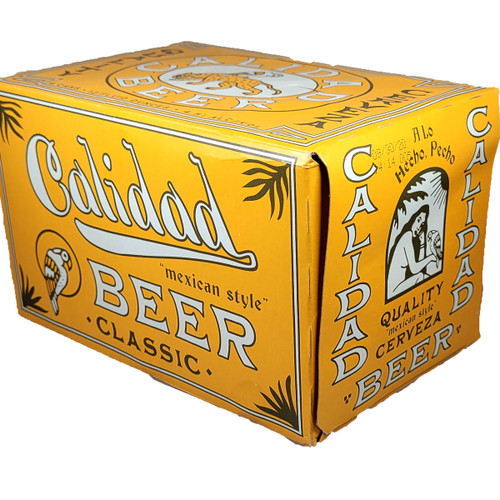 Calidad Quality Mexican-Style Lager Beer 6-Pack Can