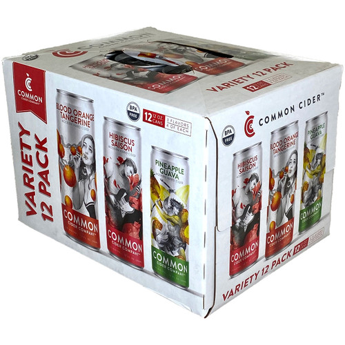 Common Cider Variety 12-Pack Can