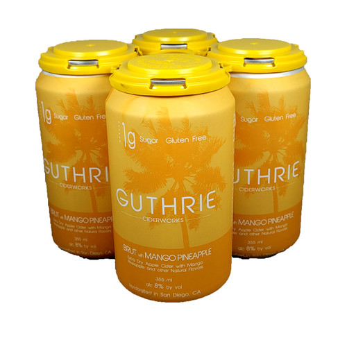 Guthrie Brut with Mango Pineapple Extra Dry Apple Cider 4-Pack Can