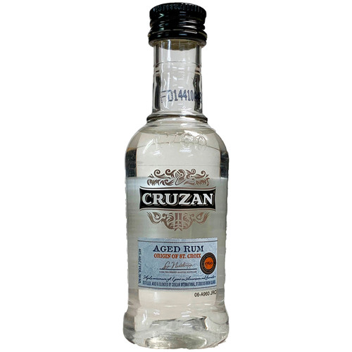 Cruzan Aged White Rum 50ML