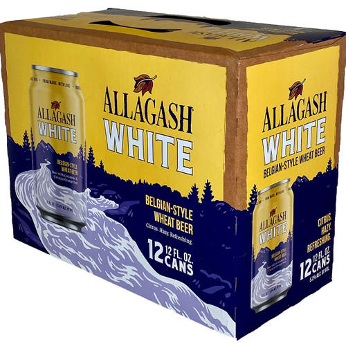 Allagash White Belgian-Style Wheat Beer 12-Pack Can
