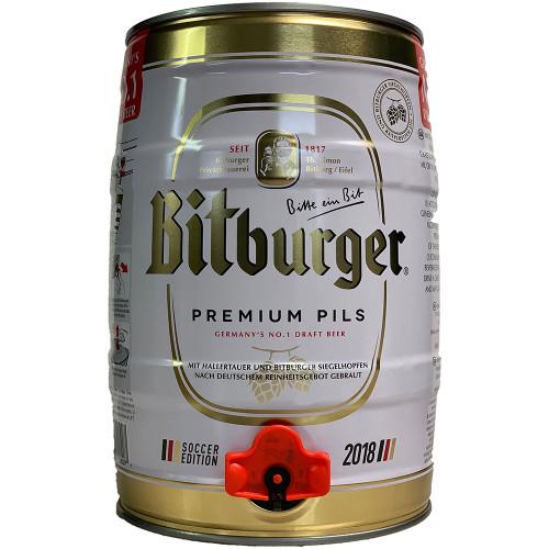 Bitburger Premium Pils 5L Mini Keg