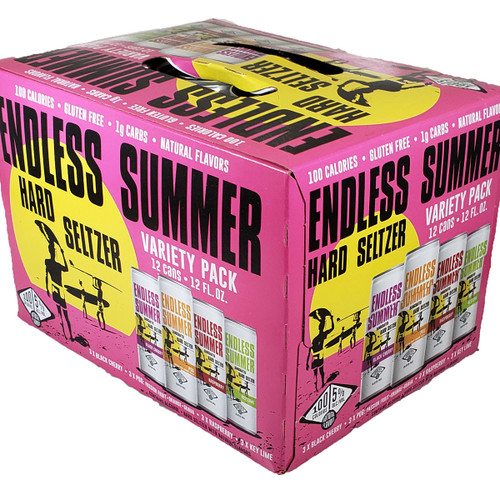 Endless Summer Hard Seltzer Variety 12-Pack Can