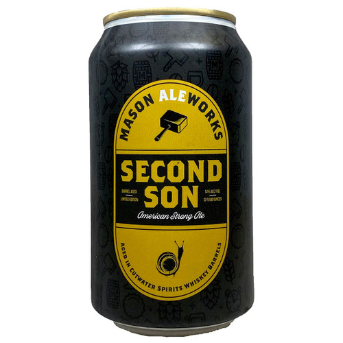 Mason Ale Works Second Son Strong Ale Can