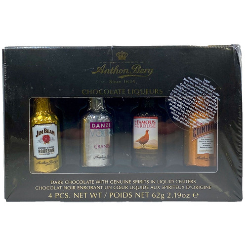 Anthon Berg Chocolate Liqueurs 4-Pack