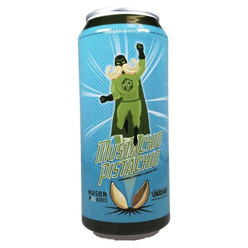 Mason Ale Works / Unsung Mustachio Pistachio Stout Can