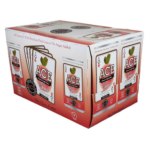 Ace Guava Craft Cider 6-Pack Can
