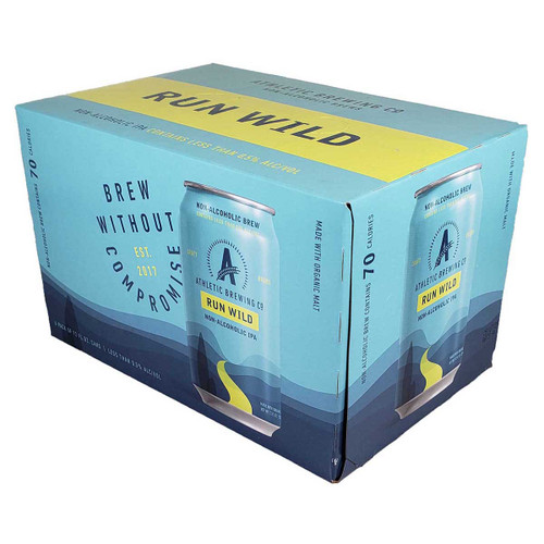 Athletic Run Wild Non-Alcoholic IPA 6-Pack Can