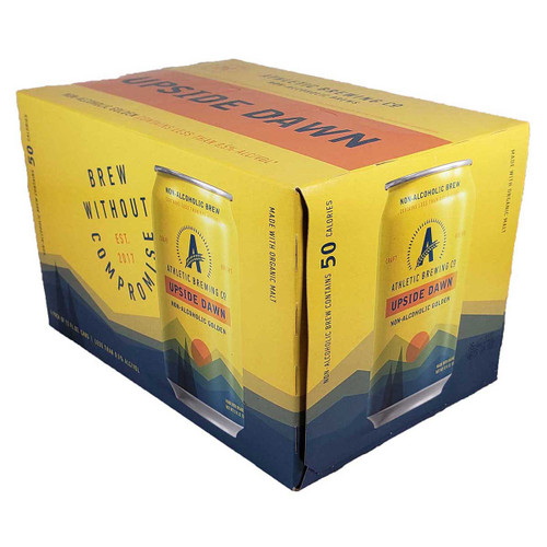 Athletic Upside Dawn Non-Alcoholic Golden 6-Pack Can