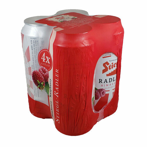 Stiegl Radler Raspberry 4-Pack Can