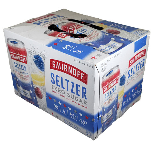 Smirnoff Red White & Berry Hard Seltzer 12-Pack Can