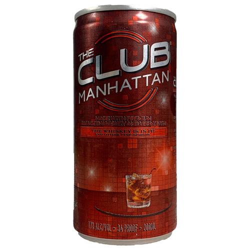 Club Manhattan Cocktail
