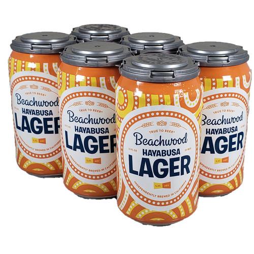 Beachwood Hayabusa Lager 6-Pack Can