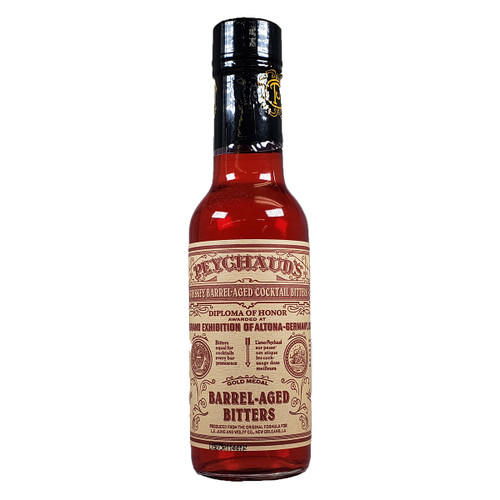 Peychaud's Whiskey Barrel Aged Aromatic Cocktail Bitters