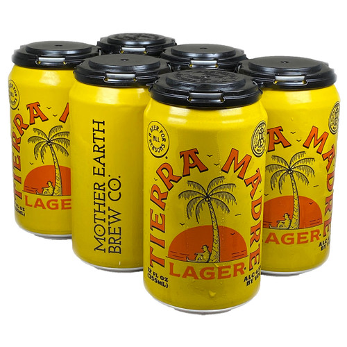 Mother Earth Tierra Madre Lager 6-Pack Can