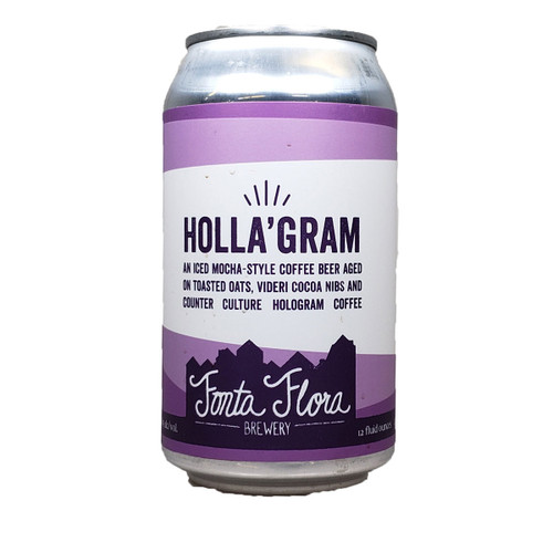 Fonta Flora Holla'Gram Mocho Stout Can