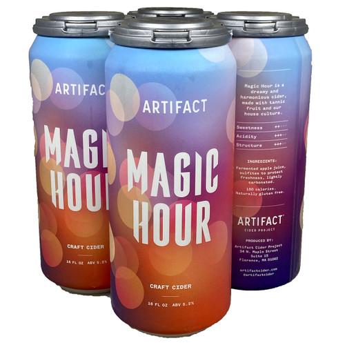 Artifact Magic Hour Craft Cider 4-Pack Can