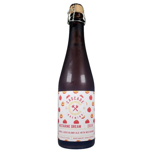Cascade Nectarine Dream Barrel-Aged Blond Sour Ale 2019