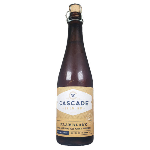 Cascade Framblanc Barrel-Aged  Blond Sour Ale with White Raspberries 2017