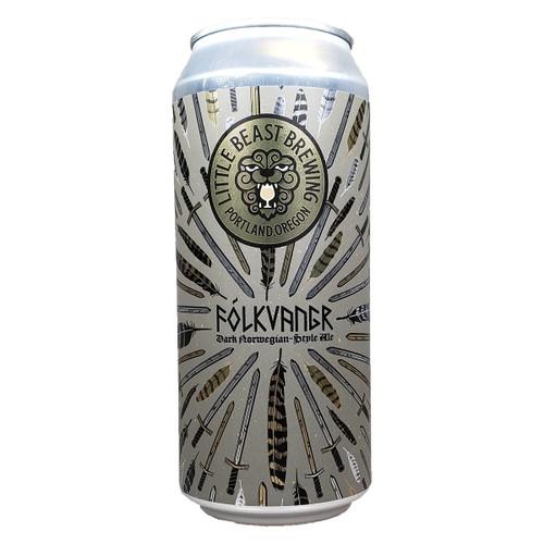 Little Beast Folkvangr Dark Norwegian-Style Ale Can