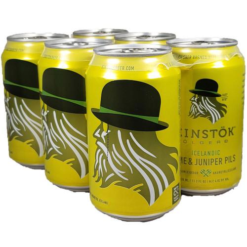Einstok Icelandic Lime Juniper Pilsner 6-Pack Can