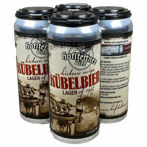 Hofstetten Kubelbier Lager of 1945 Can