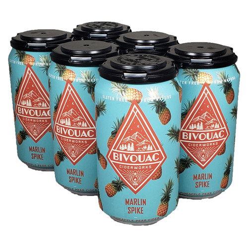Bivouac Marlin Spike Pineapple Pear Cider 6-Pack Can