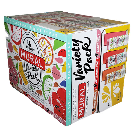 New Belgium Mural Agua 12-Pack Can